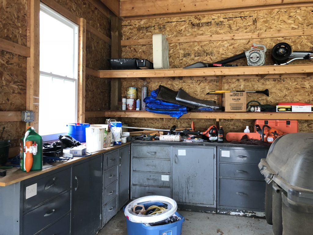 Getting rid of hidden clutter: organizing the garage! https://wp.me/p9Ovph-21G
