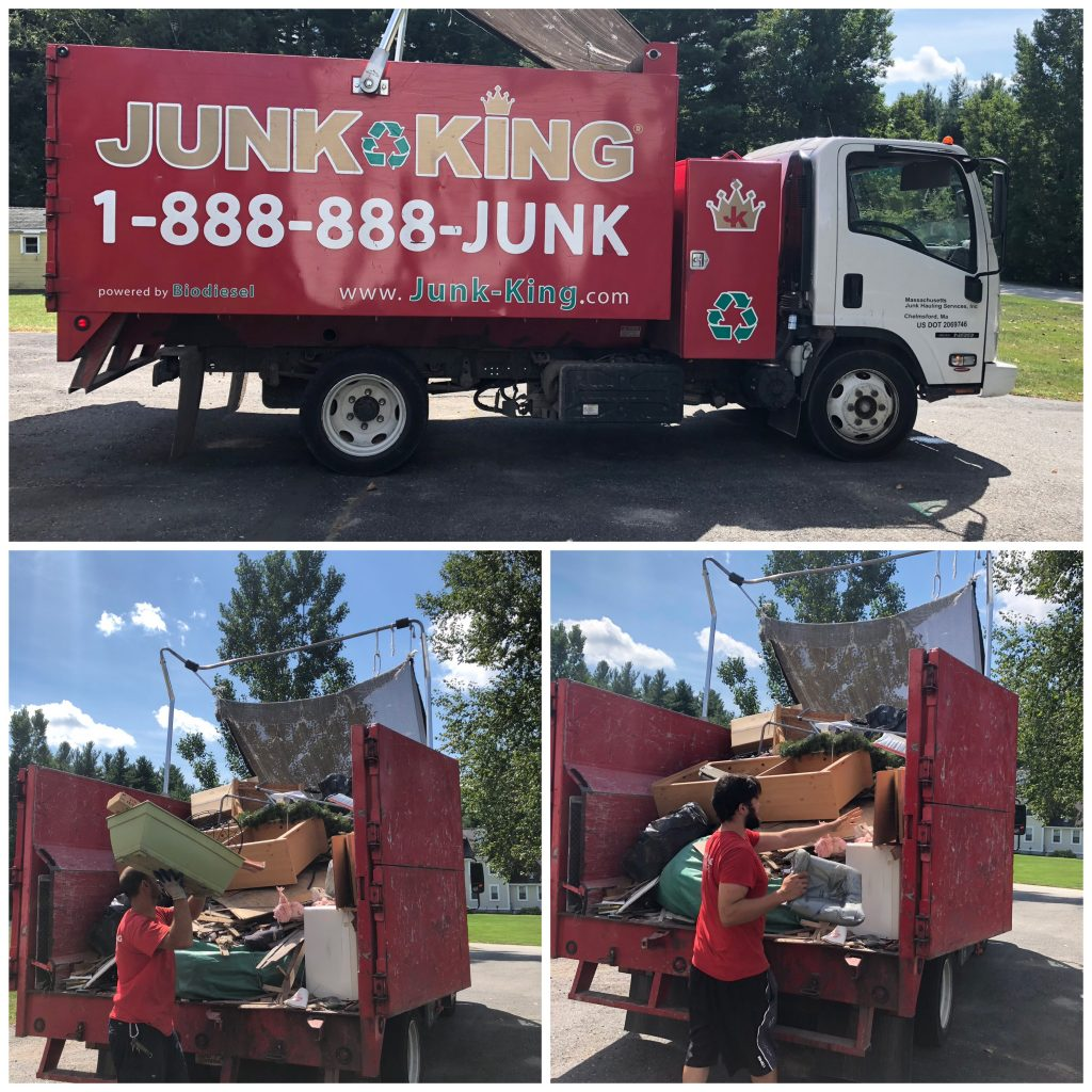 Junk King made easy work of getting rid of our hidden clutter! It was like Santa Claus had come to my house!
