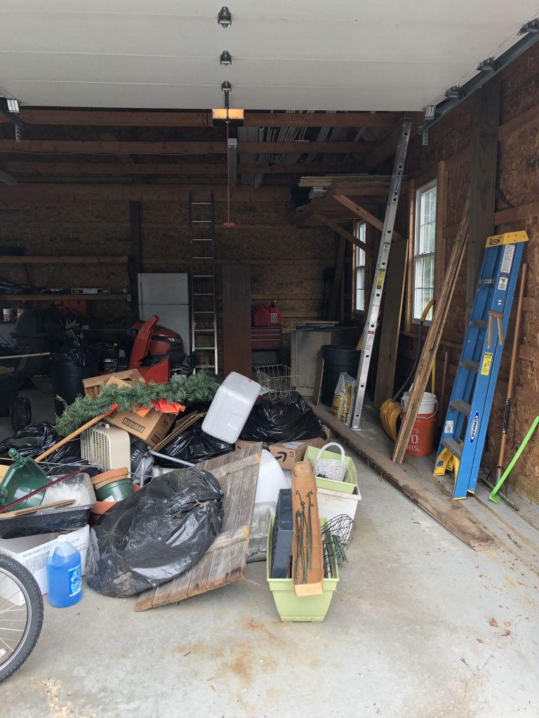 Getting rid of hidden clutter: organizing the garage and shed! https://wp.me/p9Ovph-21G