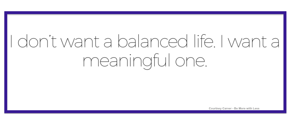 balance: why it can leave you holding your breath