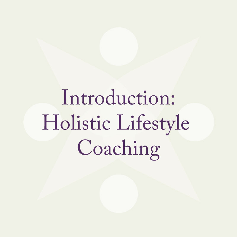 Introduction Holistic Lifestyle Coaching